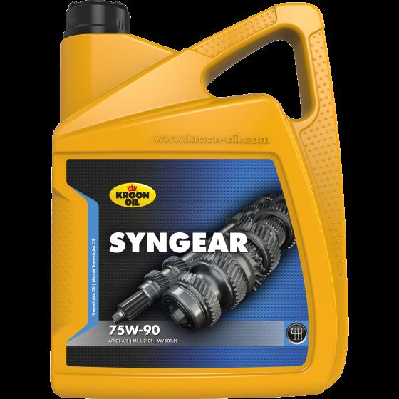 5 L can Kroon-Oil Syngear 75W-90