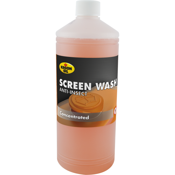 1 L bottle Kroon-Oil Screen Wash Anti-Insect