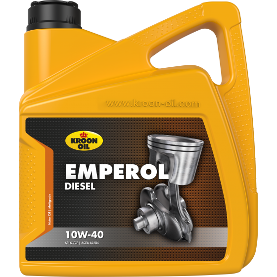 4 L can Kroon-Oil Emperol Diesel 10W-40