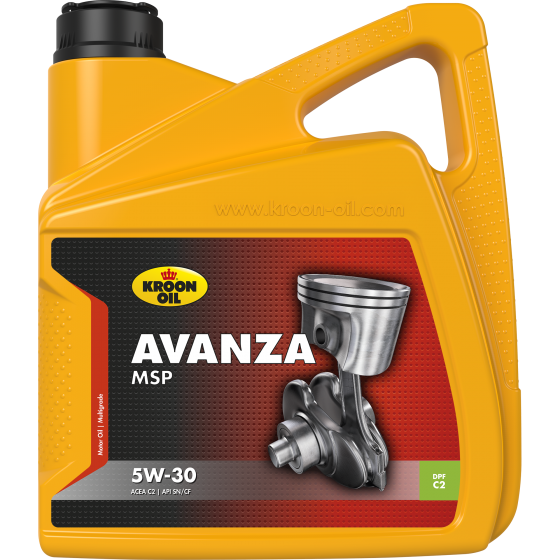 4 L can Kroon-Oil Avanza MSP 5W-30