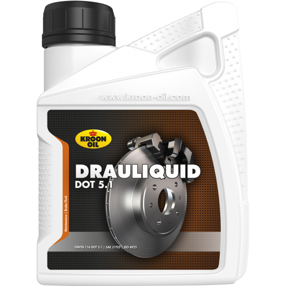 500 ml bottle Kroon-Oil Drauliquid DOT 5.1