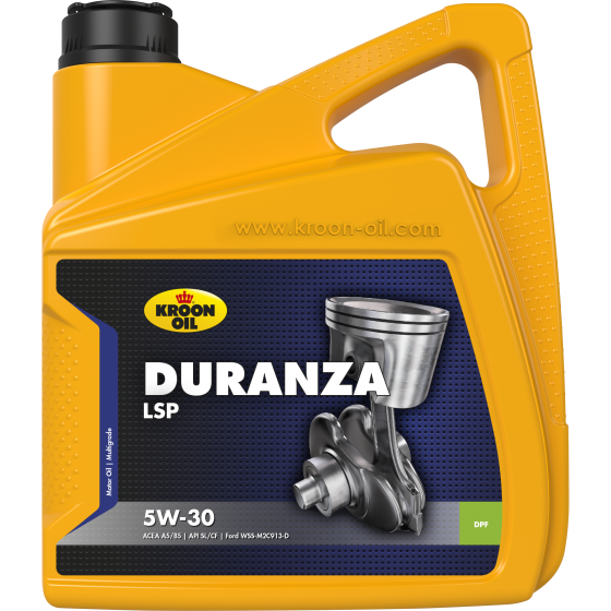4 L can Kroon-Oil Duranza LSP 5W-30