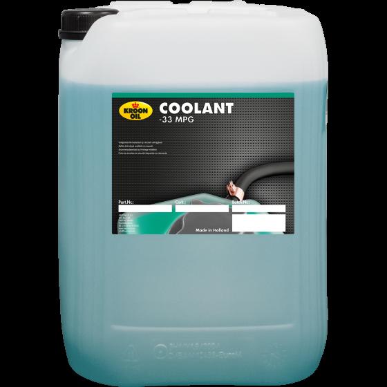 20 L can Kroon-Oil Coolant -33 MPG (groen)