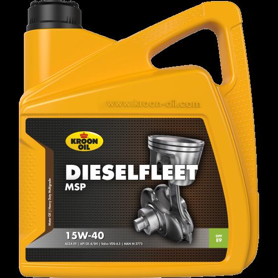 4 L can Kroon-Oil Dieselfleet MSP 15W-40
