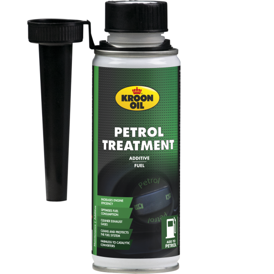 250 ml tin Kroon-Oil Petrol Treatment