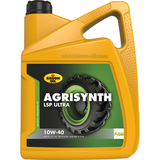 5 L can Kroon-Oil Agrisynth LSP Ultra 10W-40