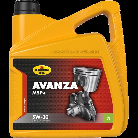 4 L can Kroon-Oil Avanza MSP+ 5W-30