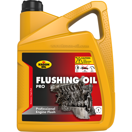 5 L can Kroon-Oil Flushing Oil Pro