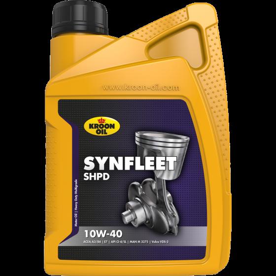 1 L bottle Kroon-Oil Synfleet SHPD 10W-40
