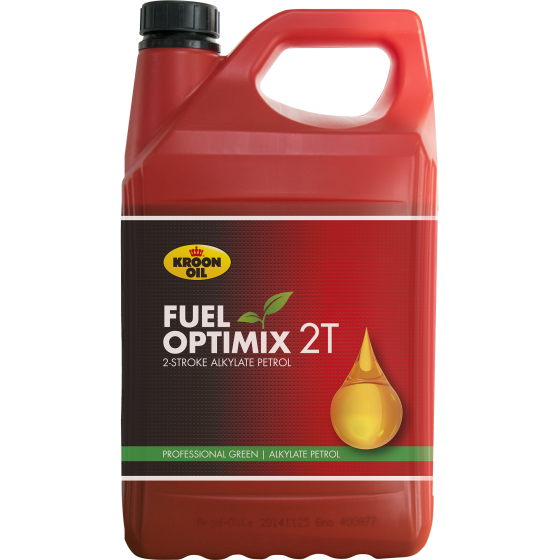 5 L can Kroon-Oil Fuel Optimix 2T Ex Duty