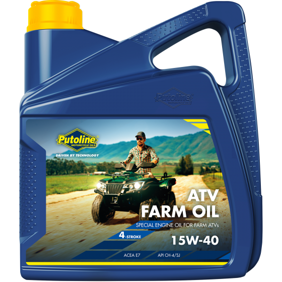4 L can Putoline ATV Farm Oil 15W-40
