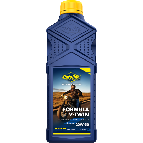 1 L bottle Putoline Formula V-Twin 20W-50