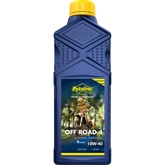 1 L bottle Putoline Off Road 4 10W-40