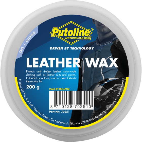 200 g pot Putoline Leather Wax
