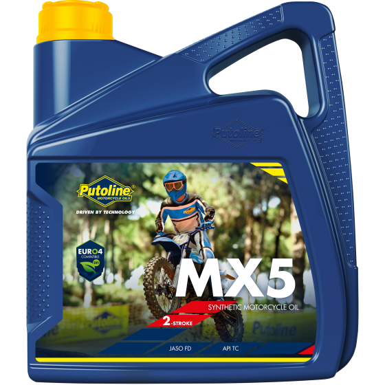 4 L can Putoline MX 5