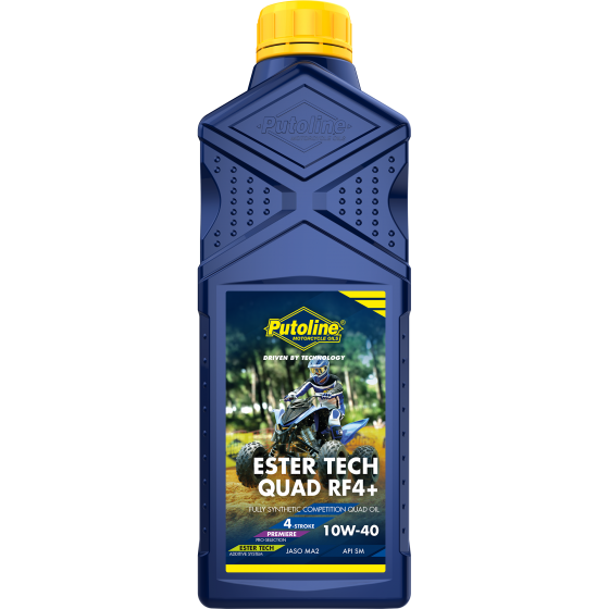 1 L bottle Putoline Ester Tech Quad RF 4+ 10W-40