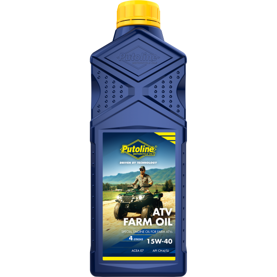 1 L bottle Putoline ATV Farm Oil 15W-40