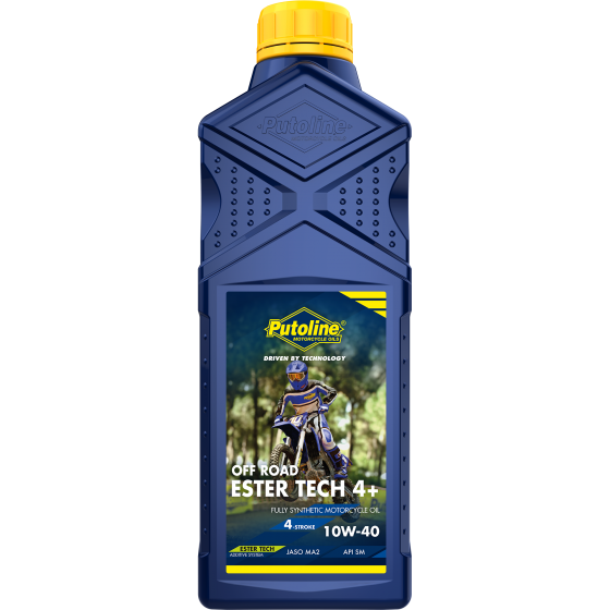 1 L bottle Putoline Ester Tech Off Road 4+ 10W-40
