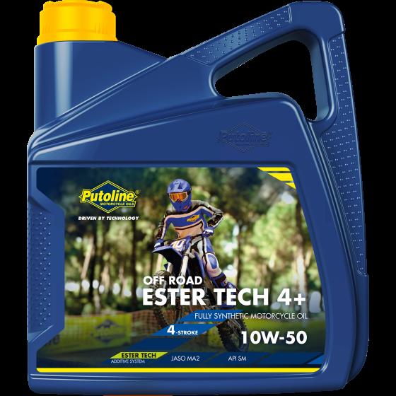 4 L can Putoline Ester Tech Off Road 4+ 10W-50