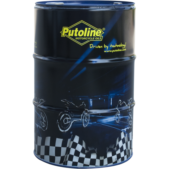 60 L drum Putoline Ester Tech Off Road 4+ 10W-50