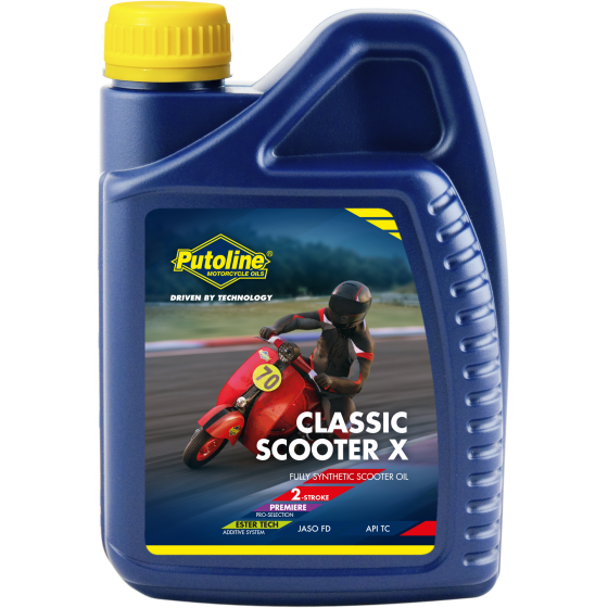 1 L bottle Putoline Classic Scooter-X