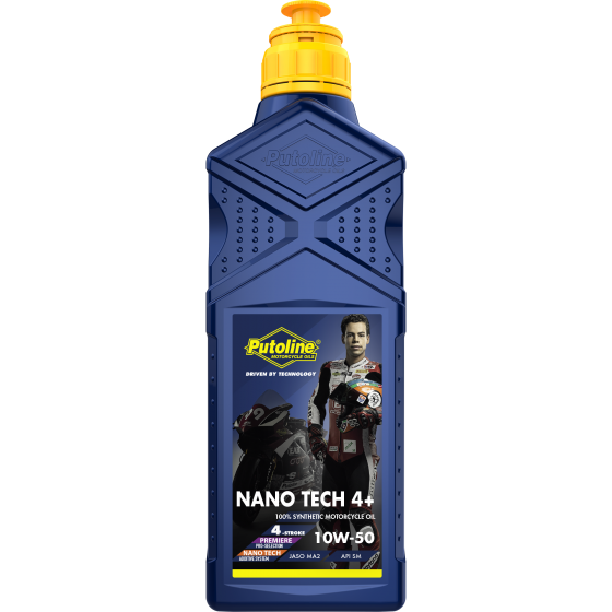 1 L bottle Putoline Nano Tech 4+ 10W-50