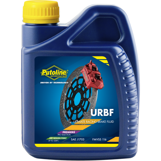 500 ml bottle Putoline Brakefluid DOT 4 URBF