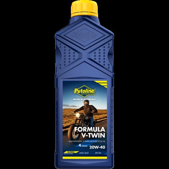 1 L bottle Putoline Formula V-Twin 20W-40
