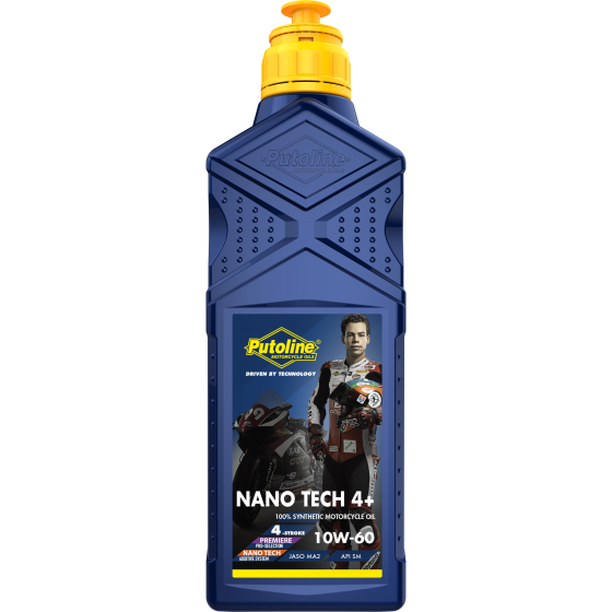 1 L bottle Putoline Nano Tech 4+ 10W-60