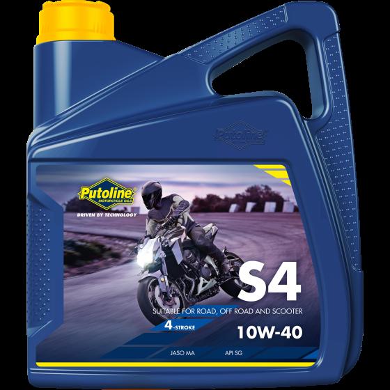 4 L can Putoline S4 10W-40
