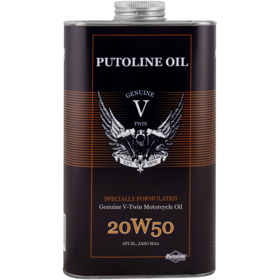 1 L tin Putoline Genuine V-Twin 20W-50