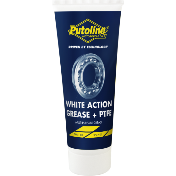 100 g tube Putoline White Action Grease + PTFE