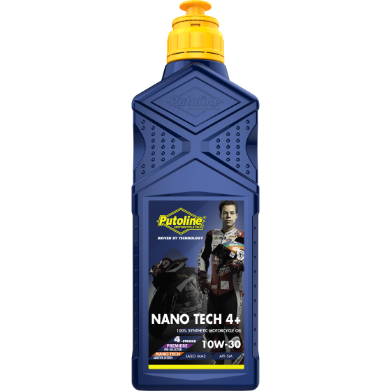 1 L bottle Putoline Nano Tech 4+ 10W-30