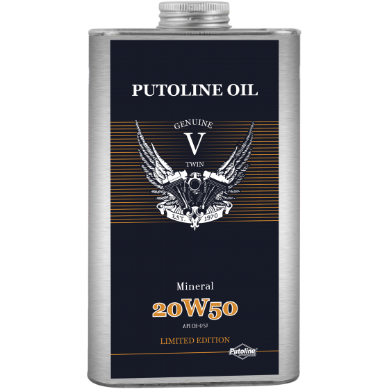 1 L tin Putoline V -Twin Mineral 20W-50