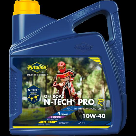 4 L can Putoline N-Tech® Pro R+ Off Road 10W-40