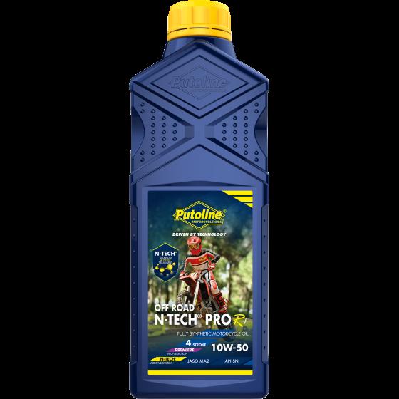 1 L bottle Putoline N-Tech® Pro R+ Off Road 10W-50