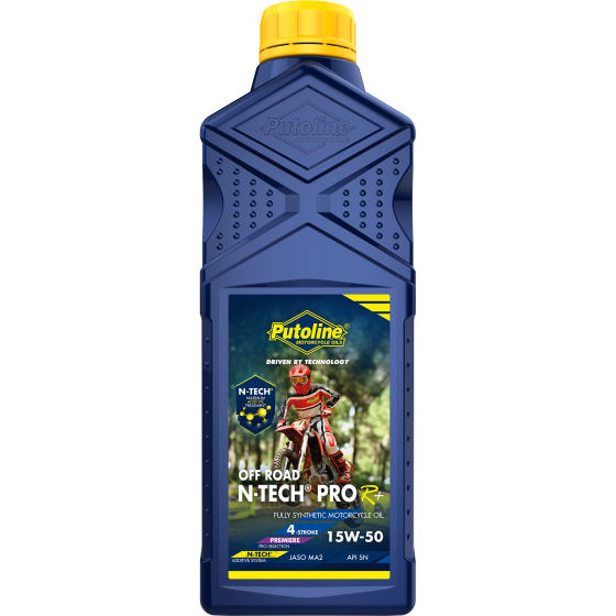1 L bottle Putoline N-Tech® Pro R+ Off Road 15W-50