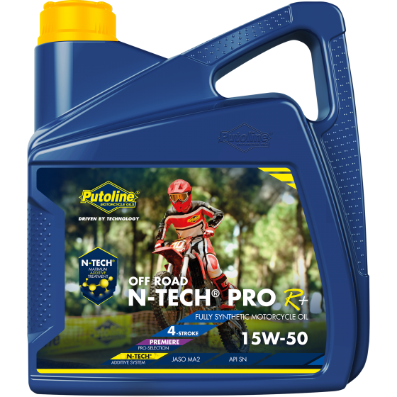 4 L can Putoline N-Tech® Pro R+ Off Road 15W-50