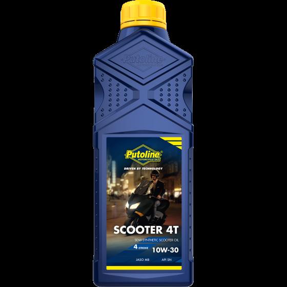 1 L bottle Puotline Scooter 4T 10W-30