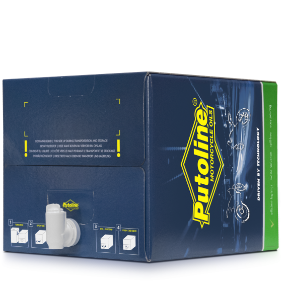 20 L BiB Putoline Ester Tech Quad RF4+ 10W-40